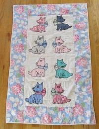 153 best images about Scottie dog quilts on Pinterest ...