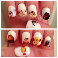 Best 20+ Lion king nails ideas on Pinterest | Disney nail ...
