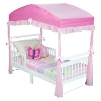 Delta Girls Toddler Bed Canopy - Pink | Furniture & Food ...