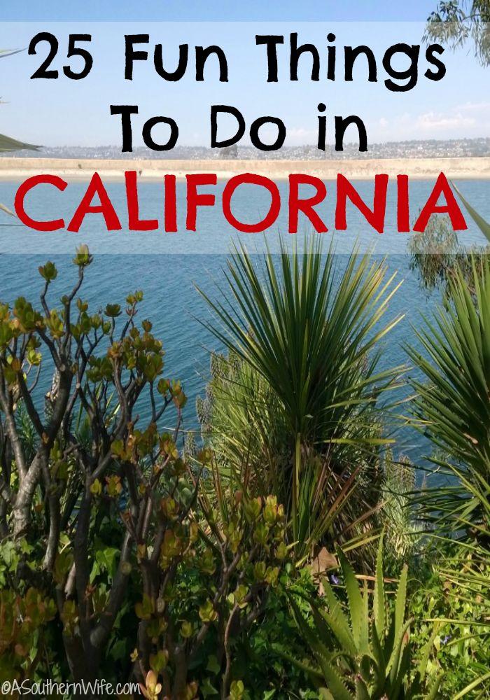 25 Fun Things To Do in California CA Summer Fun