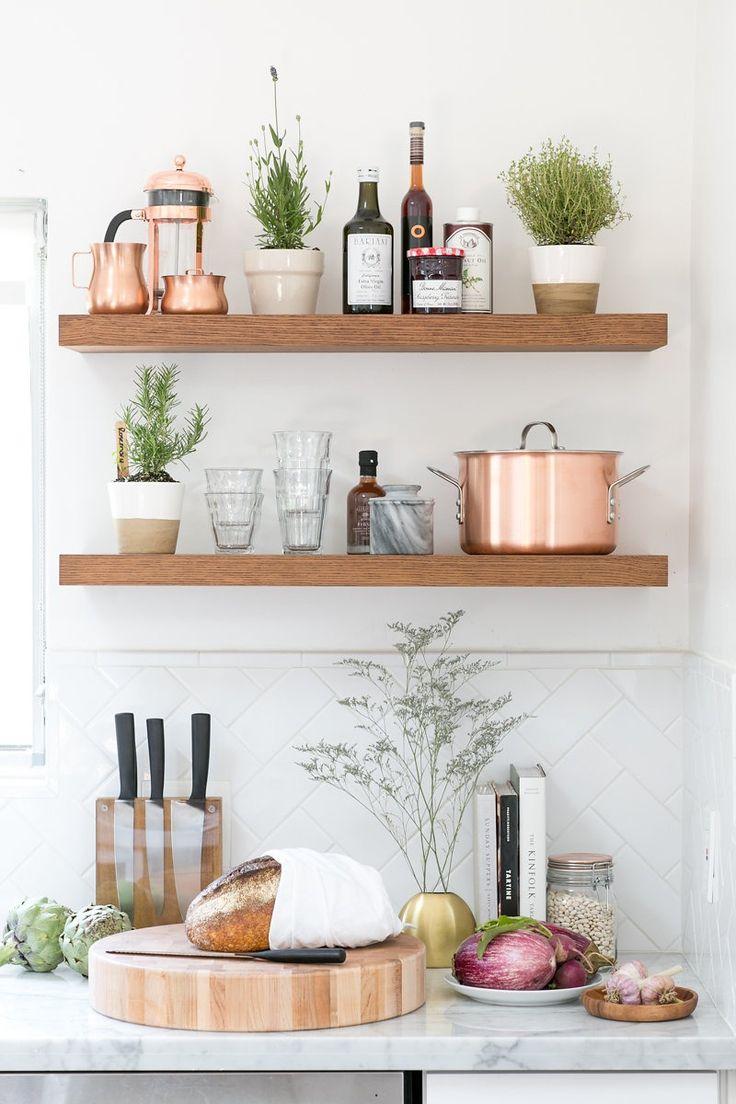 Best 25 Kitchen shelves ideas on Pinterest