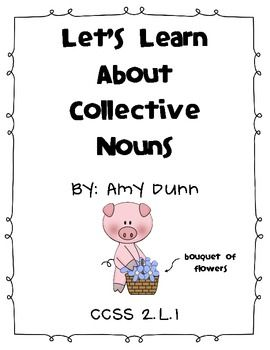 29 best images about word study-COLLECTIVE NOUNS on
