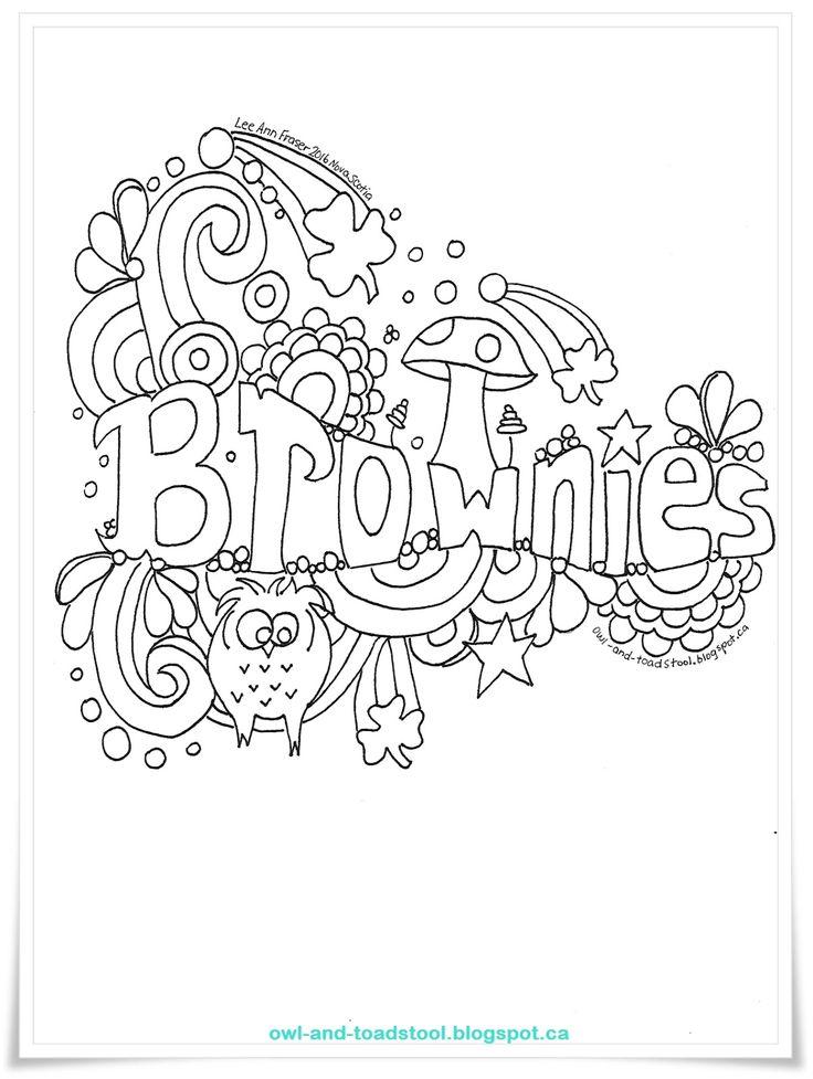 Best 25+ Brownie badges ideas on Pinterest