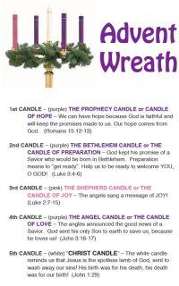 advent-wreath.png 499799 pixels | Recipes | Pinterest ...