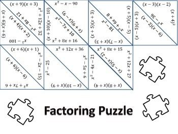 Factoring Polynomials: Finding the area and perimeter in