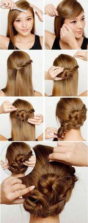 pretty cute braided updo hairstyles