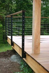 25+ best ideas about Stainless steel cable railing on