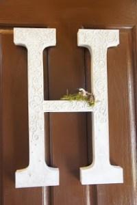 17 Best ideas about Front Door Initial on Pinterest | Door ...