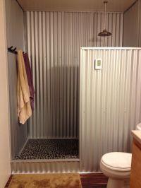 25+ best ideas about Galvanized shower on Pinterest