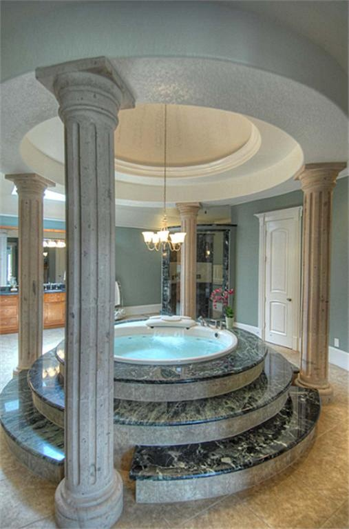 Another view of master bath which features separate walk