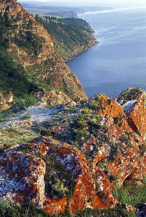 Olkhon Island Lake Baikal Siberia Russia Lake Baikal