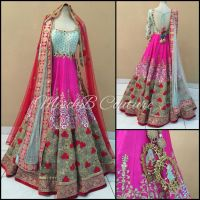 Wow Vows bridal anarkali by MischB Couture | MischB ...