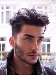 ideas male hairstyles