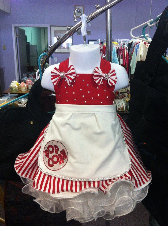 Pageant OOC Outfit Of Choice Circus Wear Popcorn