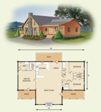 Best 25+ Log home plans ideas on Pinterest | Log cabin ...