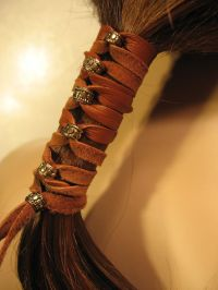 25+ great ideas about Hair Beads on Pinterest   Viking ...