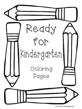 1000+ ideas about Kindergarten Coloring Pages on Pinterest