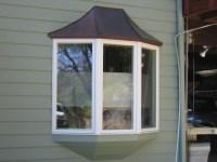 Copper bay window cap by BZ Builders. http ...