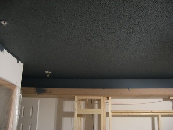 Black Ceiling Paint Home CEILINGS Pinterest Black