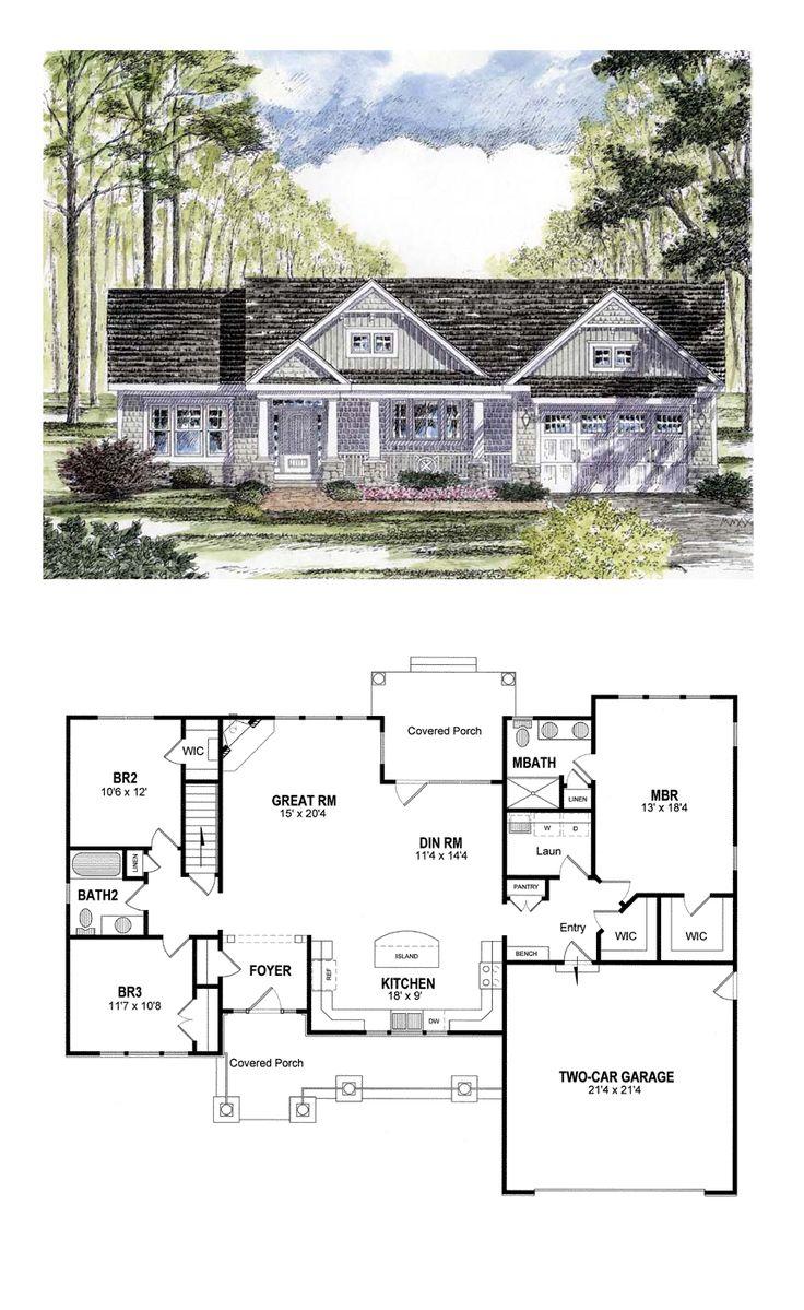 Bedroom Retirement House Plans