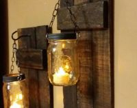 25+ best ideas about Rustic candle holders on Pinterest ...