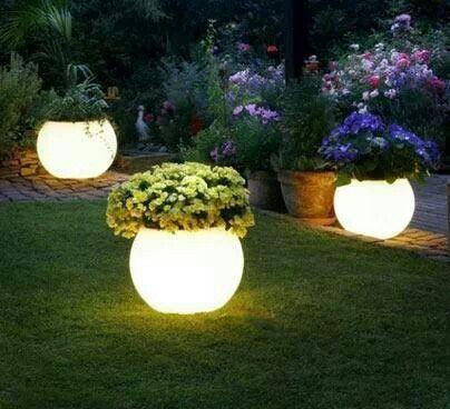 The 25 Best Glow Pots Ideas On Pinterest Small Solar Lights