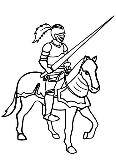 Medieval Helmets Coloring Coloring Pages