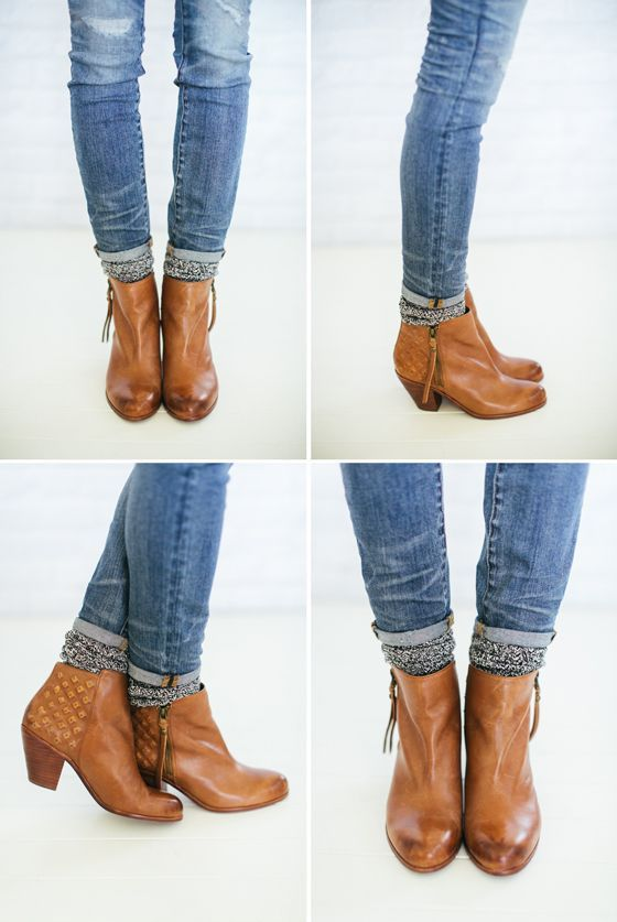 How to wear ankle boots wit