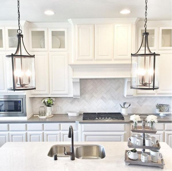 farmhouse kitchen island lights Best 25+ Farmhouse pendant lighting ideas on Pinterest