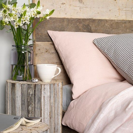Soft grey and pink bedroom | Coastal colour schemes – 10 of the best | PHOTO GALLERY | Colour | Design | Housetohome