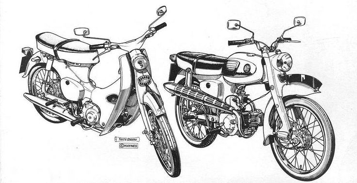 1000+ images about Vintage Honda Motorcycles on Pinterest