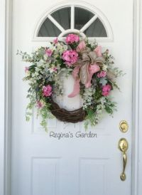25+ best ideas about Spring Wreaths on Pinterest | Wreaths ...