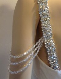 321 best images about DETACHABLE wedding gown straps ...