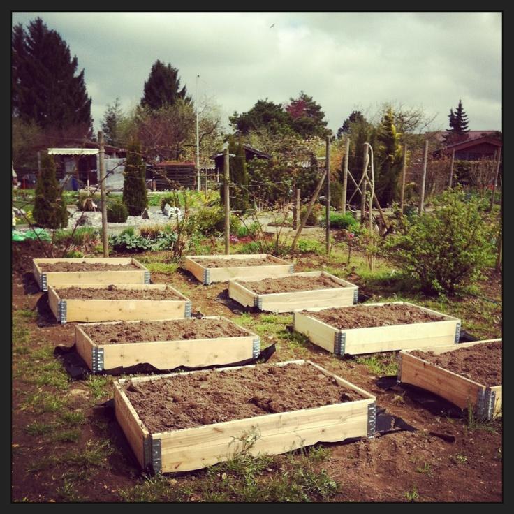 Paletten Hochbeete Garten Ideen Pinterest