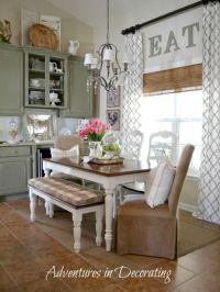25+ best ideas about Dining Room Curtains on Pinterest