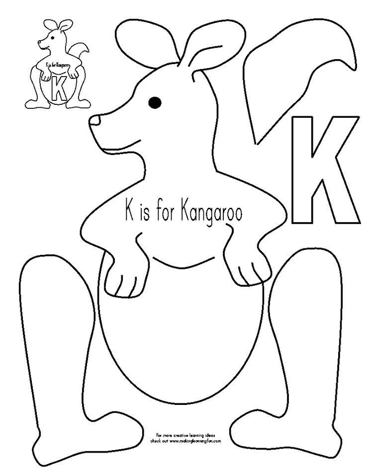 25+ best ideas about Kangaroo Craft on Pinterest