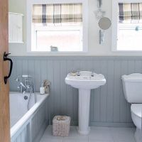 Wood panelling bathroom | Bathroom | Pinterest | Panelling ...