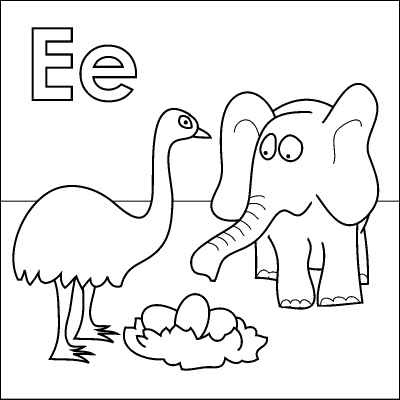 17 Best images about Free Alphabet Coloring Pages on
