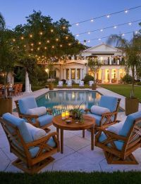 The perfect backyard chill out space after a fun day of ...