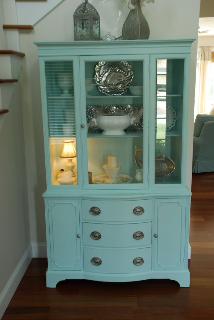 China Hutch  like the style the color wouldnt work in