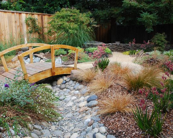 landscaping dry river bed design
