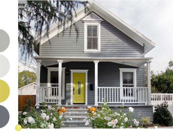 Exterior House Paints Ile Ilgili Pinterest'teki En Iyi 25'den