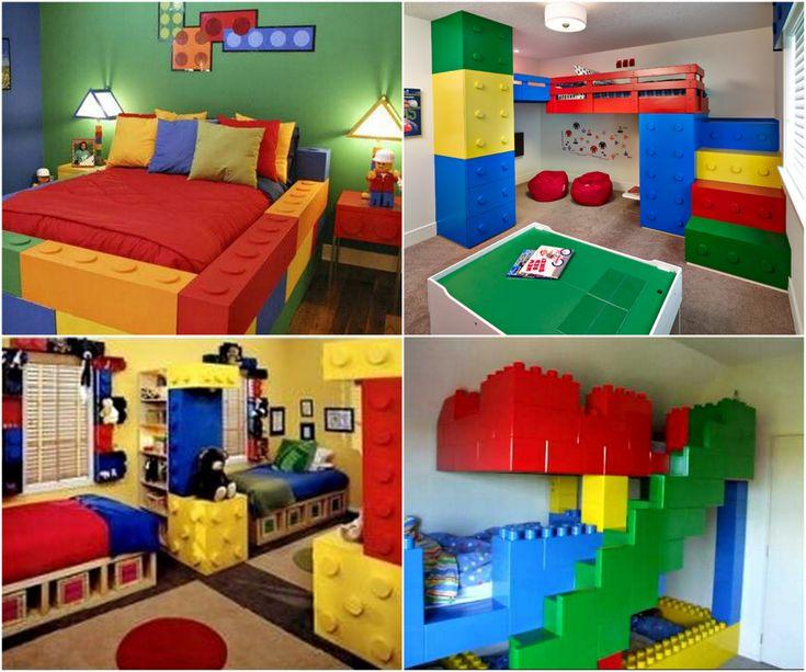 Lego ...  sc 1 st  Elitflat & Lego Themed Room Decorating Ideas - Elitflat
