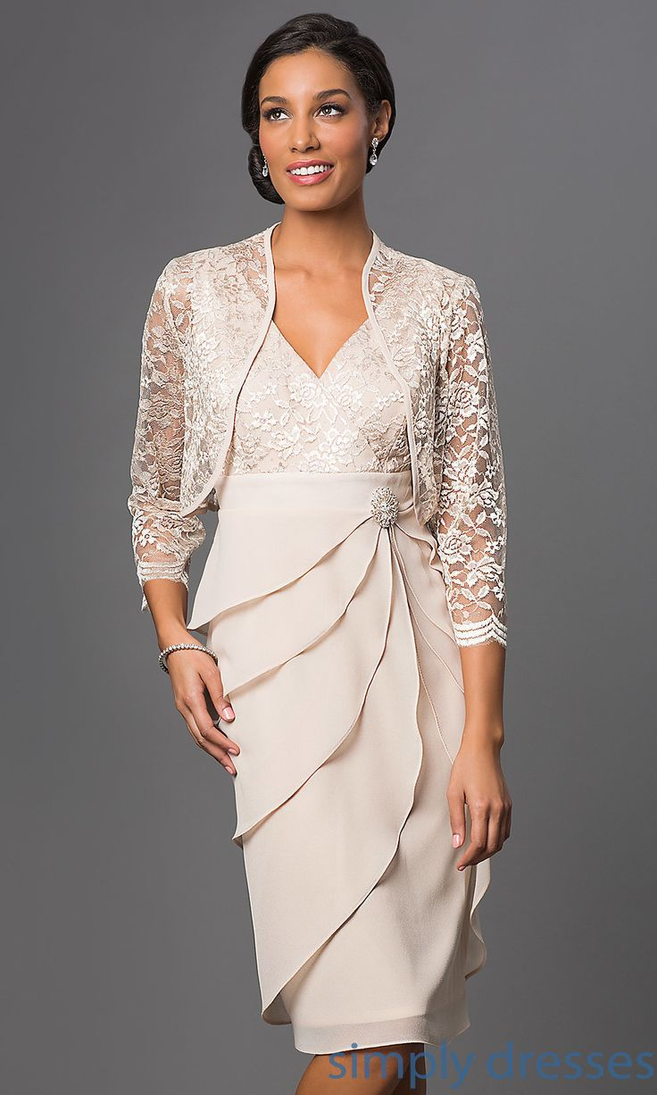 SF8723  KneeLength Sally Fashion Dress with Jacket