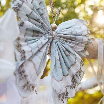 Crepe Paper Butterflies