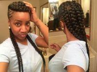 89 bsta bilderna om cornrows p Pinterest | Ghana braids ...