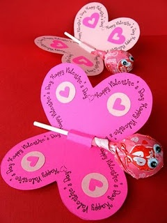 valentines day craft….. I may have to make these for LilyBugs class!