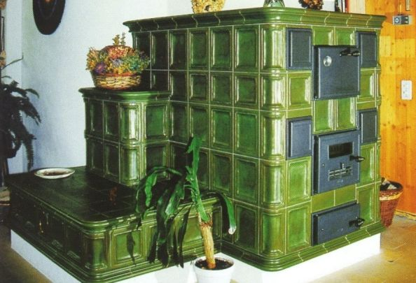 Glazed Tile Russian Stove Fireplaces Amp Stoves