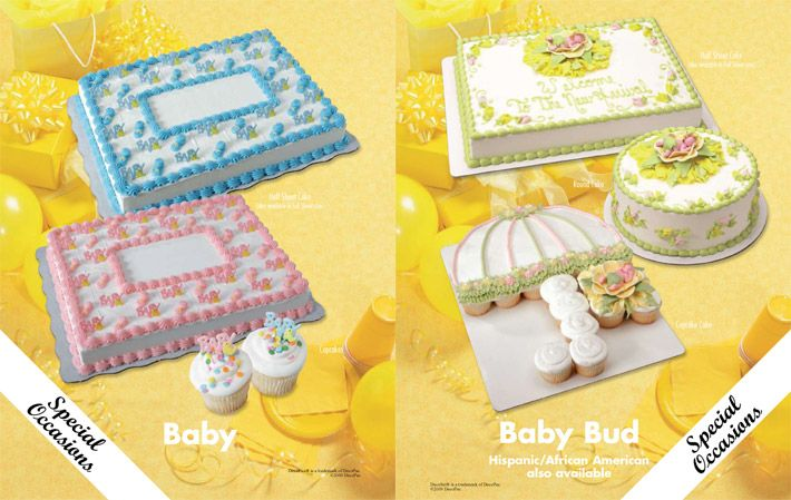Baby Shower Cakes From Walmart