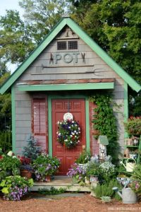 25+ best ideas about Backyard Sheds on Pinterest | Sheds ...